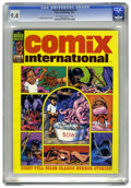 Magazines:Horror, Comix International #5 (Warren, 1977) CGC NM 9.4 Off-white to white pages. Spirit story with Will Eisner art. Also art by Ri...