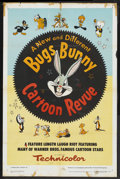 "Movie Posters:Animated, Bugs Bunny Cartoon Revue (Warner Brothers, 1953). One Sheet (27"" X41""). Animated. Various directors...."