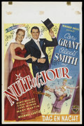 """Movie Posters:Drama, Night and Day (Warner Brothers, 1946). Belgian (14"""" X 22""""). Drama. Starring Cary Grant, Alexis Smith, Monty Woolley, Ginny S..."""
