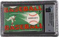 Baseball Cards:Other, 1954 Bowman Baseball 5-Cent Unopened Wax Pack GAI NM 7. ...