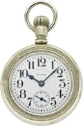 Timepieces:Pocket (post 1900), Elgin 21 Jewel Father Time Pocket Watch, circa 1909. ...