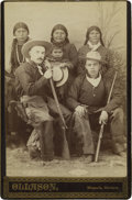 Western Expansion:Cowboy, Photograph of Two Fully Dressed Cowboys, Missoula, MontanaTerritory, circa 1880s....