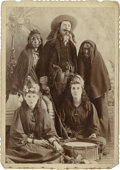 Photography:Cabinet Photos, Costume Party Cabinet Card, circa 1890s....