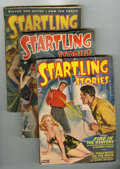Pulps:Science Fiction, Startling Stories Group (Standard, 1948-55) Condition: AverageVG/FN.... (Total: 14 Comic Books)