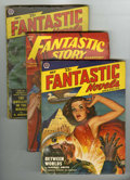 Pulps:Science Fiction, Fantastic Adventures and Others Group (Ziff-Davis, 1948-57)Condition: Average VG/FN.... (Total: 11 Items)