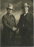 Photography:Official Photos, Outstanding 1912 Image of Oklahoma Lawmen Bud Ballew and BuckGarrett....