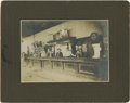 Photography:Cabinet Photos, Great Silver Print Boudoir Cabinet of the Koehler Saloon inKoehler, New Mexico. ...