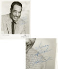Music Memorabilia:Autographs and Signed Items, Duke Ellington Signed Photo....