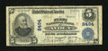National Bank Notes:Pennsylvania, Avoca, PA - $5 1902 Plain Back Fr. 600 The First NB Ch. # 8494. ...