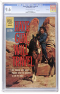 Silver Age (1956-1969):Western, Have Gun, Will Travel #8 File Copy (Dell, 1961) CGC NM+ 9.6Off-white to white pages....