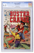 Golden Age (1938-1955):Science Fiction, Buster Crabbe #2 (Famous Funnies, 1952) CGC FN+ 6.5 Off-white towhite pages....