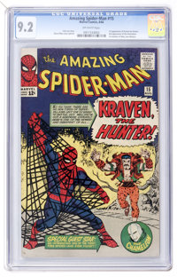 The Amazing Spider-Man #15 (Marvel, 1964) CGC NM- 9.2 Off-white pages