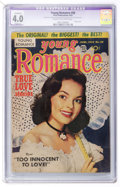 Golden Age (1938-1955):Romance, Young Romance Comics #58 (Prize, 1953) CGC Apparent VG 4.0 Slight(A) Cream to off-white pages....