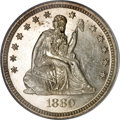 Seated Quarters, 1880 25C MS66 PCGS....