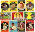 Baseball Cards:Sets, 1959 Topps Baseball Partial Set (303/572)....