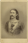 "Photography:Cabinet Photos, Cabinet Card of Circus Entertainer ""Happy Jack Putton.""..."