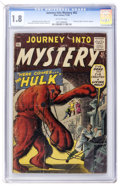 Silver Age (1956-1969):Horror, Journey Into Mystery #62 (Marvel, 1960) CGC GD- 1.8 Off-whitepages....