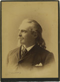Photography:Studio Portraits, Outstanding Large Bust Image of Col. T. Edwards, Patent MedicineMan....
