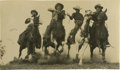 Photography:Official Photos, Terrific H. Armstrong Roberts Action Shot of Racing Cowboys....