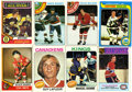 Hockey Cards:Lots, 1970's Topps Hockey Card Collection (200+). ...