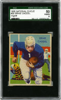 Football Cards:Singles (Pre-1950), 1935 National Chicle Ernie Caddel #30 SGC 50 VG/EX 4....
