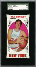 Basketball Cards:Singles (Pre-1970), 1969-70 Topps Bill Bradley #43 SGC 84 NM 7....