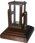 Antiques:Decorative Americana, Another Great Saloon Gaming Stimulator Dice Rolling Cage, circa1890s-1900s. ...