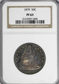 Proof Seated Half Dollars: , 1879 50C PR63 NGC. NGC Census: (48/127). PCGS Population (91/120).Mintage: 1,100. Numismedia Wsl. Price for NGC/PCGS coin ...