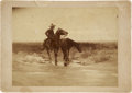 Photography:Cabinet Photos, Boudoir Image of Artwork Featuring a Mexican Cowboy, circa1890s....