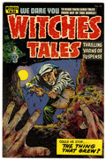 Golden Age (1938-1955):Horror, Witches Tales #27 Harvey File Copy (Harvey, 1954) Condition: FN....
