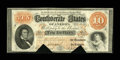 Confederate Notes:1861 Issues, T24 $10 1861 PF-11, Cr. 164.. ...