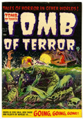 Golden Age (1938-1955):Horror, Tomb of Terror #16 File Copy (Harvey, 1954) Condition: FN....