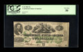 Confederate Notes:1862 Issues, T43 $2 1862 PF-1, Cr. 338.. ...