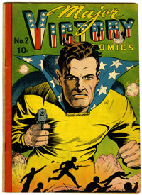 Major Victory Comics #2 (H. Clay Glover Company, 1944) Condition: VG