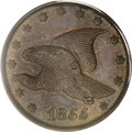 Patterns, 1855 P1C Flying Eagle Cent, Judd-173, Pollock-198, Low R.7, PR63Brown PCGS....
