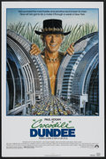 "Movie Posters:Adventure, Crocodile Dundee (Paramount, 1986). One Sheet (27"" X 41"").Adventure...."