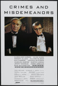 "Movie Posters:Comedy, Crimes and Misdemeanors (Orion, 1989). One Sheet (27"" X 41"") Style B. Comedy...."