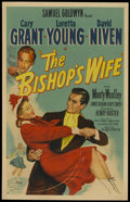 """Movie Posters:Comedy, The Bishop's Wife (RKO, 1948). One Sheet (27"""" X 41"""") Style A.Comedy...."""