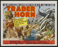 "Movie Posters:Adventure, Trader Horn (MGM, R-1953). Lobby Card Set of 8 (11"" X 14"").Adventure.... (Total: 8 Items)"