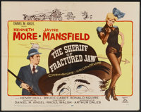 """The Sheriff of Fractured Jaw (20th Century Fox, 1959). Half Sheet (22"""" X 28""""). Comedy"""