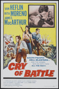 """Movie Posters:War, Cry of Battle (Allied Artists, 1963). One Sheet (27"""" X 41"""").War...."""
