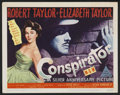 "Movie Posters:Adventure, Conspirator (MGM, 1949). Lobby Card Set of 8 (11"" X 14"").Adventure.... (Total: 8 Items)"