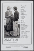 "Movie Posters:Academy Award Winner, Annie Hall (United Artists, 1977). One Sheet (27"" X 41""). AcademyAward Winner...."