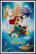 "Movie Posters:Animated, The Little Mermaid (Buena Vista, 1989). One Sheet (27"" X 41"") DS. Animated...."