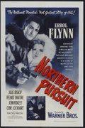 "Movie Posters:Adventure, Northern Pursuit (Warner Brothers, 1943). One Sheet (27"" X 41"").Adventure...."