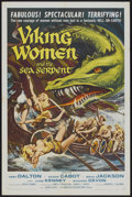 """Movie Posters:Fantasy, Viking Women and the Sea Serpent (American International, 1957). One Sheet (27"""" X 41""""). Fantasy...."""