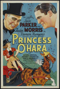 "Movie Posters:Comedy, Princess O'Hara (Universal, 1935). One Sheet (27"" X 41""). Comedy...."
