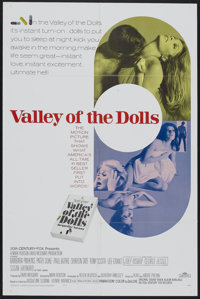 "Valley of the Dolls (20th Century Fox, 1967). One Sheet (27"" X 41""). Cult Classic"