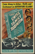 "Movie Posters:Adventure, Swiss Family Robinson (Astor, R-1940s). One Sheet (27"" X 41"").Adventure...."