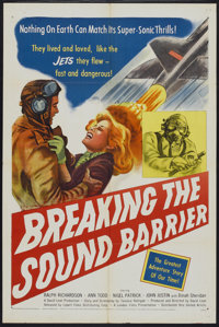 "Breaking the Sound Barrier (United Artists, 1952). One Sheet (27"" X 41""). Action"